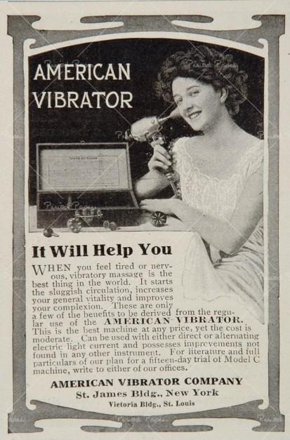 primer vibrador, masturbación